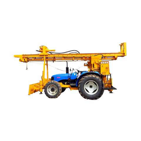 Heavy Duty Tractor Mounted Drilling Rig